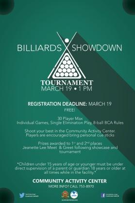 Billiards-Showdown